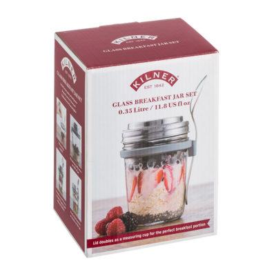 KILNER Breakfast To Go Jar