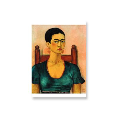 POSTKARTE Frida Kahlo - Selbstporträt