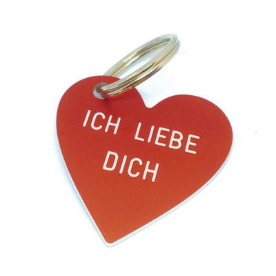 Schlüsselanhänger Ich liebe Dich