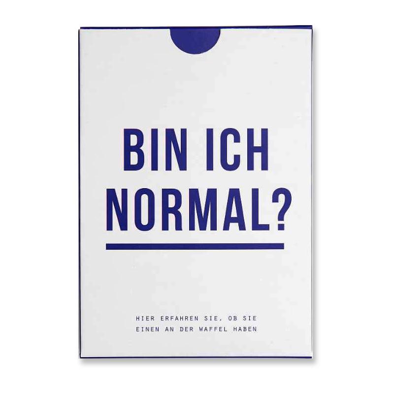 Bin ich Normal? Kartenspiel